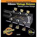 Electric Guitar Strings Gibson GVR 10, 010-046, Vintage