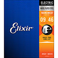 Electric Guitar Strings Elixir Nanoweb Custom Light .009-046