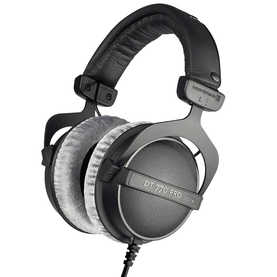 beyerdynamic dt 770 pro 250 ohm headphone. Black Bedroom Furniture Sets. Home Design Ideas