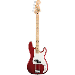 Fender Standard Precision Bass MN Candy Apple Red « Electric Bass Guitar