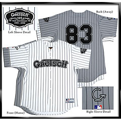 Gretsch 125th Anniversary Home Jersey