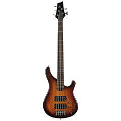 Sandberg Basic Ken Taylor 5-String Tobacco Burst 2PH « Electric Bass Guitar