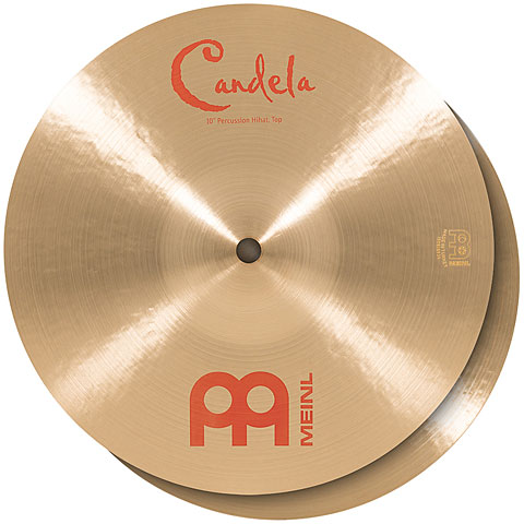 Meinl 10  Candela Percussion Hihat