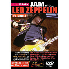 Roadrock Lick Library Jam with Led Zeppelin 2 ( DVD & CD)