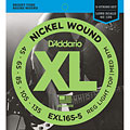 D'Addario EXL165-5 Nickel Wound .045-135 « Electric Bass Strings