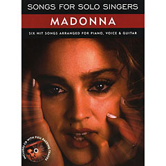 Music Sales Songs For Solo Singers Madonna