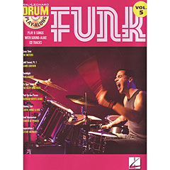 Hal Leonard Drum Play-Along Vol.5 - Funk