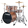 Sonor Smart Force Xtend SFX 11 Stage 2 Brushed Copper « Drum Kit