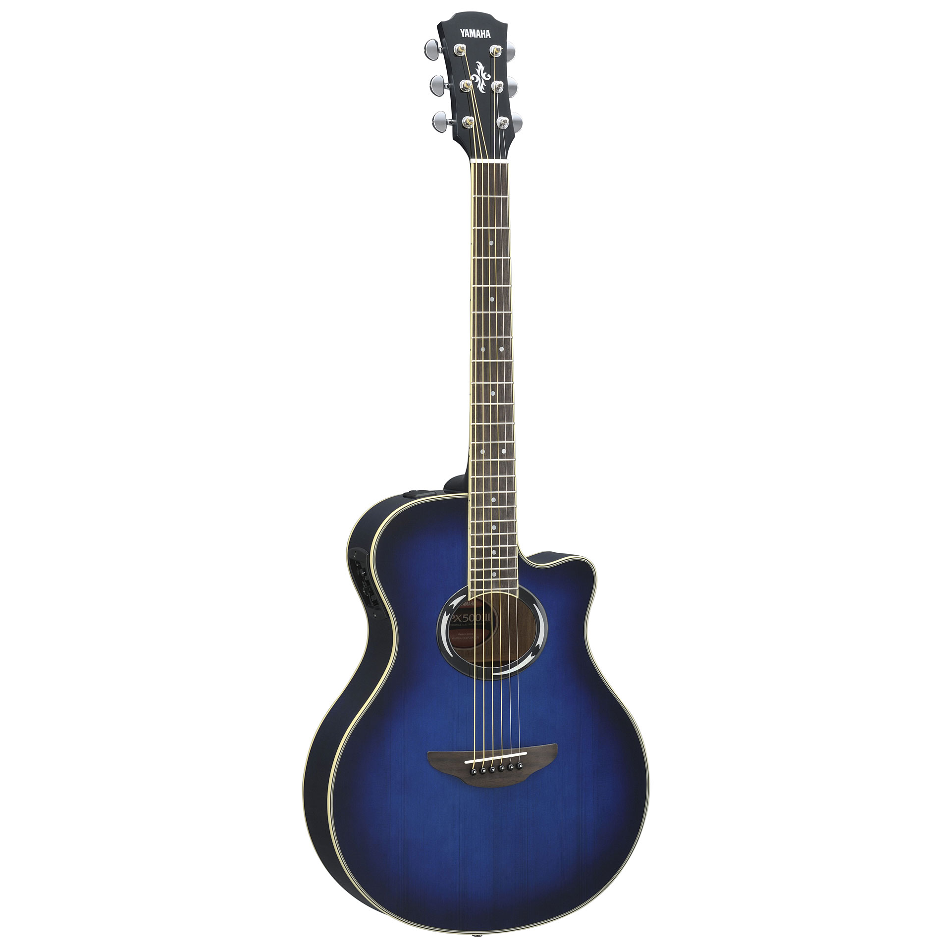 Yamaha apx500iii obb acoustic guitar for Where are yamaha guitars made