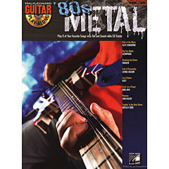 Hal Leonard Guitar Play-Along Vol.39 - 80's Metal
