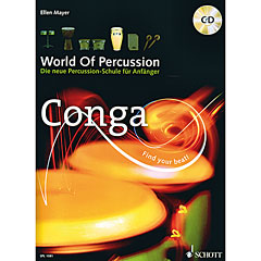 Schott World Of Percussion Conga