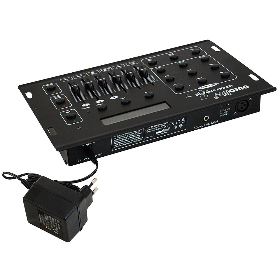 Eurolite DMX LED Operator 4 « Light Controller