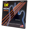 DR Neon Orange Medium 5 « Electrische Bas Snaren