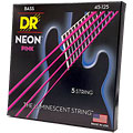 DR Neon Pink Medium 5 « Electric Bass Strings