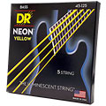 DR Neon Yellow Medium 5 « Electric Bass Strings