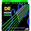 Electric Guitar Strings DR Neon Green Medium
