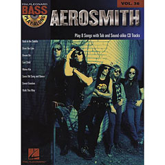 Hal Leonard Bass Play-Along Vol.36 - Aerosmith