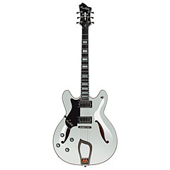 Hagstrom Viking Deluxe White Gloss « Lefthand
