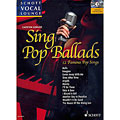 Music Notes Schott Schott Vocal Lounge Sing Pop Ballads