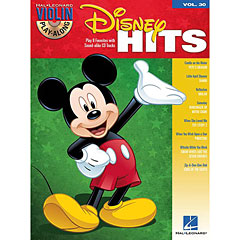 Hal Leonard Violin Play-Along Vol.30 - Disney Hits