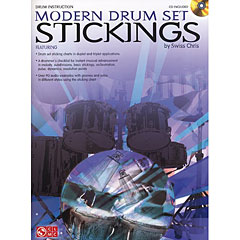 Cherry Lane Modern Drum Set Stickings