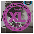 D'Addario EXL156 Nickel Wound .024-084 « Electric Guitar Strings
