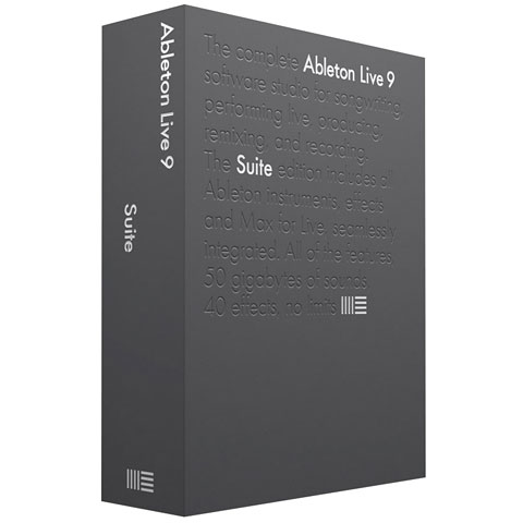Ableton Live 9 Suite German EDU