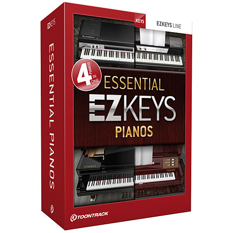 Toontrack EZkeys Essential Pianos Bundle