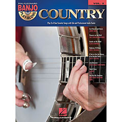 Hal Leonard Banjo Play-Along Vol.2 - Country