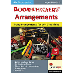 Kohl Boomwhackers Arrangements inkl. CD