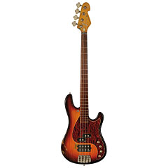 Sandberg California VM4 Hardcore Aged, 3 Tone Sunburst « Electric Bass Guitar