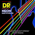 Electric Guitar Strings DR NEON Hi-Def MULTI-COLOR Medium