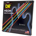 DR NEON Hi-Def MULTI-COLOR Medium 5 « Electric Bass Strings