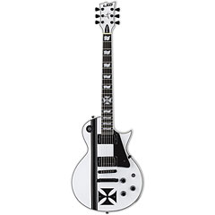 ESP LTD Iron Cross Snow White James Hetfield « Electric Guitar