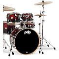 pdp Concept Maple CM5 Red to Black Sparkle Fade « Drumstel