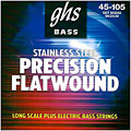 GHS Precision Flatwound 045-105, M3050 « Electric Bass Strings