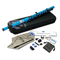 Transverse Flute Nuvo Student Flute Electric Blue