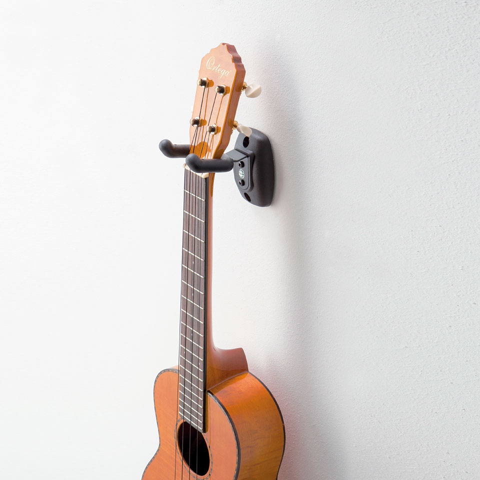 k m 16590 ukulele wall mount 10081175 guitar bass wall mount. Black Bedroom Furniture Sets. Home Design Ideas