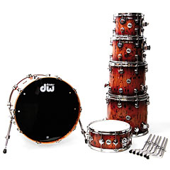 DW Collector´s Exotic Quick Deep Rich red Burst Pecan