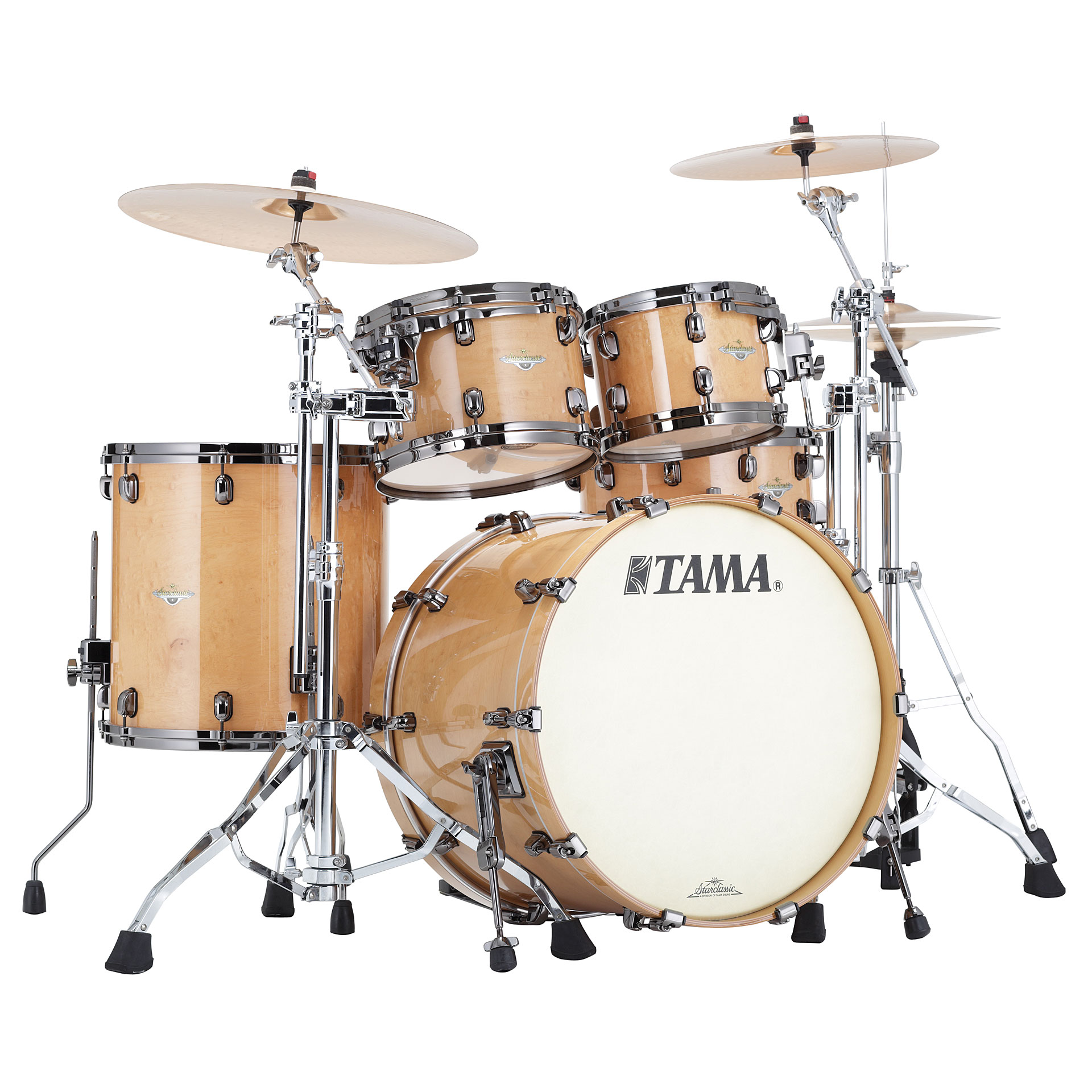 Tama starclassic maple me42tzbs gfmg drum kit for Classic house drums
