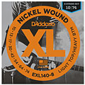 D'Addario EXL140-8 Nickel Wound .010-074 « Electric Guitar Strings