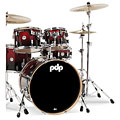 pdp Concept Maple CM5 Red to Black Sparkle Fade « Drum Kit