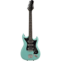Hagstrom Retroscape H-III Aged Sky Blue « Electric Guitar