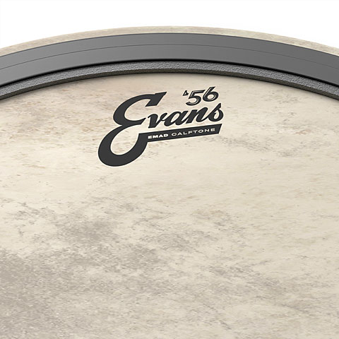 evans emad calftone 24 bass drum head bass drum head. Black Bedroom Furniture Sets. Home Design Ideas