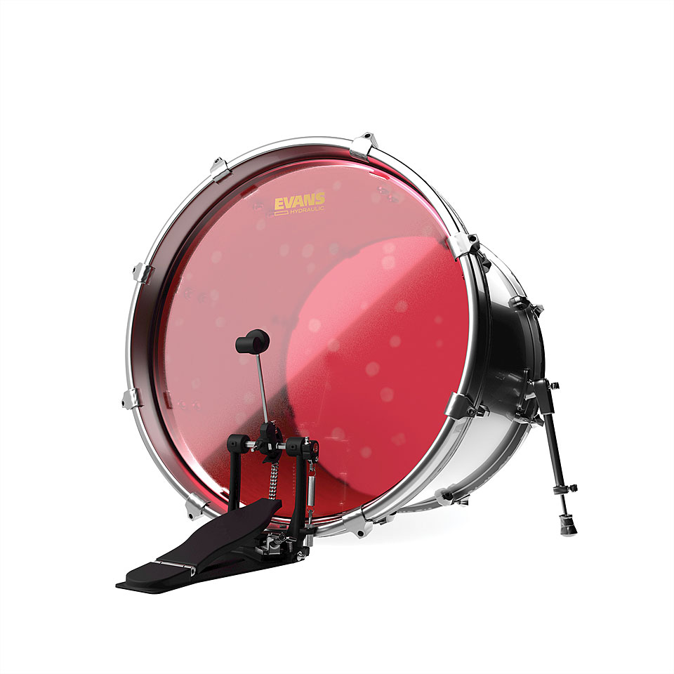 evans hydraulic red 22 bass drum head bass drum head. Black Bedroom Furniture Sets. Home Design Ideas