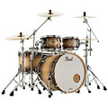 "Pearl Masters Maple Complete 22"" Satin Natural Burst « Set di batterie"