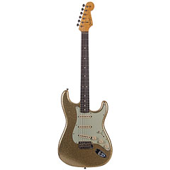 Fender Custom Shop 1964 Stratocaster Gold Sparkle « Electric Guitar
