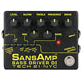 Bass Guitar Effect Tech 21 SansAmp BassDriver D.I. V.2