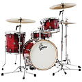 "Gretsch Catalina Club 18"" Gloss Crimson Burst Drumset « Drum Kit"