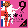 Electric Guitar Strings Rotosound R9 009-042